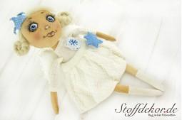 Künstlerpuppen Shabby Dekofiguren Puppen Landhaus