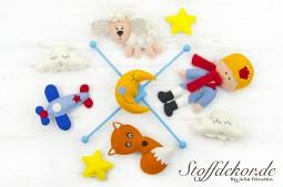 Baby Mobile Filz Kinderzimmer Mobile Filzmobile Kindergarten Mobile Babyspielzeug