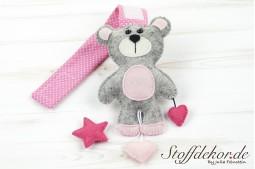 Teddy mit Stern und Herzen